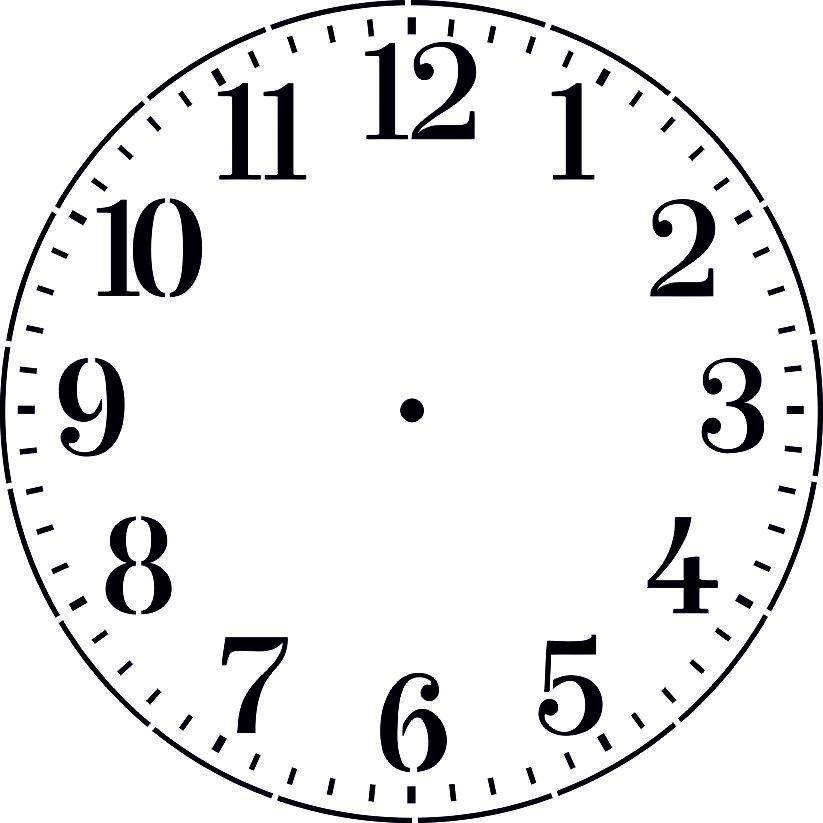 Циферблат для часов своими руками