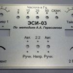 Лицевые панели приборов