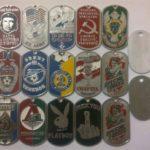 Армейские жетоны.